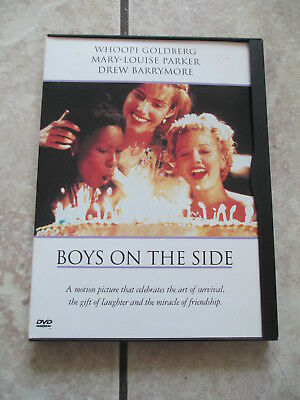 Boys On The Side (DVD, 1995) Drew Barrymore Whoopi Goldberg Mary-Louise Parker