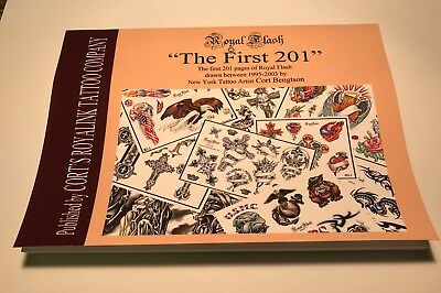 The First 201 Pages Of Royal Flash Tattoos Book
