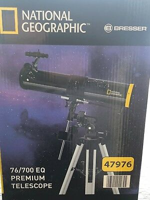 Premium Telescope National Geographic 76/700EQ
