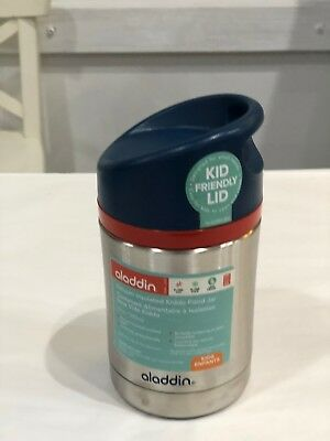 Aladdin Hybrid Kiddo Vacuum Food Jar (Blue)