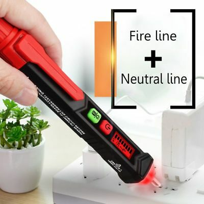 Non-contact AC Voltage Detector Digital LCD Electric Tester Handy Volt Stick Pen