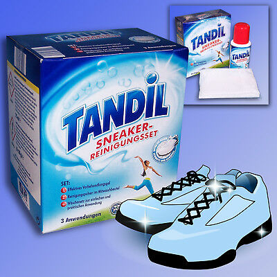 Tandil Trainers Cleaning Set Shoes Detergent + Laundry Net Sports Shoes Cleaner
