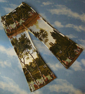 TROUSERS vintage woman MOSCHINO jeans  made Italy TG.40 ampia XS-S circa  RARE