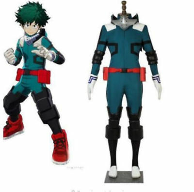 My Hero Boku no Hero Academia Midoriya Izuku Deku Battle Cosplay Costume