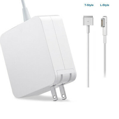 New 60W MagSafe 1/2 US/EU AC Power Adapter Charger for Apple Macbook Air Pro 13""