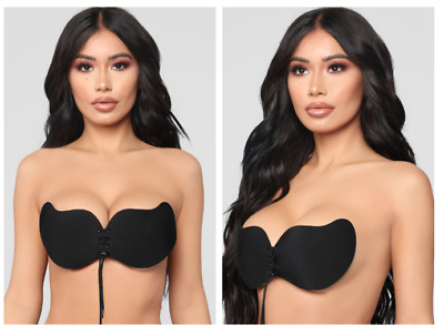 dae7273a26 Invisible Lift Push Up Backless Strapless Women s Cleavage Bra with Lace  Front