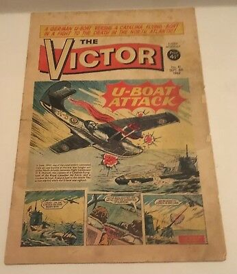 THE VICTOR COMIC No 81- SEPT 8th 1962 - U BOAT ATTACK
