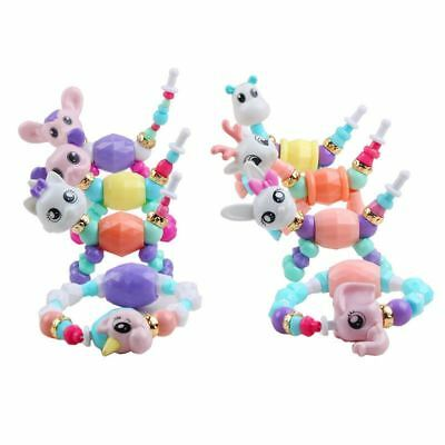 4 x Twisty Animal Pets Funny Creative DIY Animal Magic Tricks Bracelets Bangle