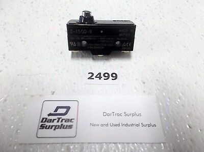 Omron Z-15GD-B Push Button Limit Switch US Seller (2499)
