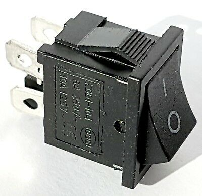 DPST SPST Rocker Switch 10A 250V Miniature, TV Power On Off – ref:842