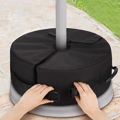 Weight Sand Bag For Umbrella Base Stand DETACHABLE Bags Round Outdoor Patio Bag