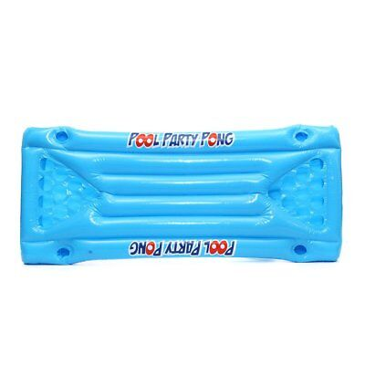 Inflatable Beer Pool Pong Float Table Raft Lounge Party Game 24 Cup Holder SH