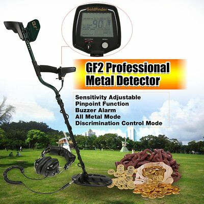 Underground Metal Detector Handheld Treasure Hunting Gold Finder LCD Display SH