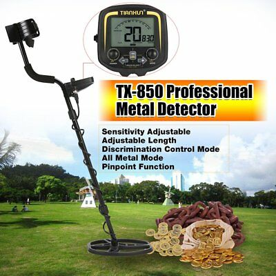 TX-850 Underground Metal Detector Handheld Treasure Hunting Gold Finder SH