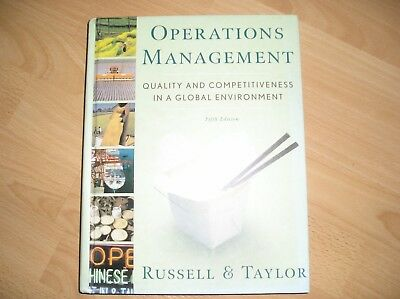 OPERATIONS MANAGEMENT by Russell and Taylor