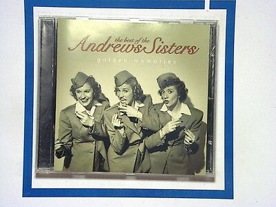 Golden memories	The Best of The Andrews Sisters Cd Mint