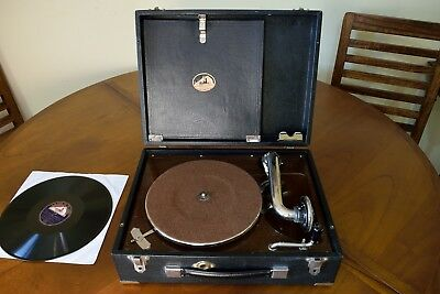 Gramophone His Master's Voice Model 99 In Excellent Condition / Gramófono