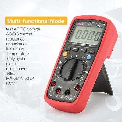 UNI-T UT139C 6000 Counts Digital Multimeter True RMS AC/DC Voltmeter Apm LoZ QU
