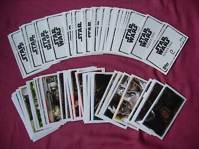 Star Wars: Rogue One Topps Stickers X102/200 PART SET ONLY VFN