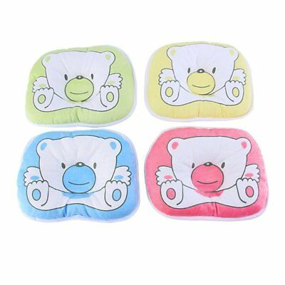 Bear Pattern Pillow Newborn Infant Baby Support Cushion Pad Prevent Flat Head QU