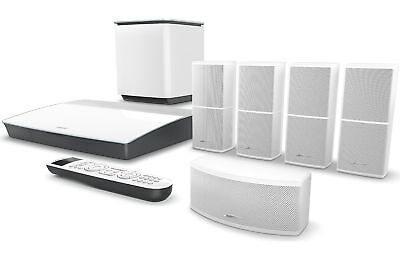 Bose Lifestyle 600 home theater system (White) New Bose 761682-1210 Ship Quick.
