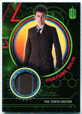 Doctor Who Extraterrestrial Encounters David Tennant  Costume Relic #126/199