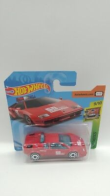 Lamborghini Countach Pace Car Hot Wheels HW City Exotics 9/10 OVP