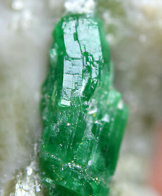 79 CRT Full Terminated Top Green Lustrous Emerald crystals on matrix from @Afg