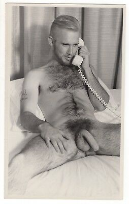 Vintage hairy gay men