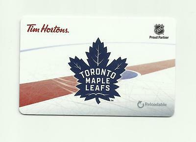 Tim Hortons Reloadable Quickpay Card - Toronto Maple Leafs