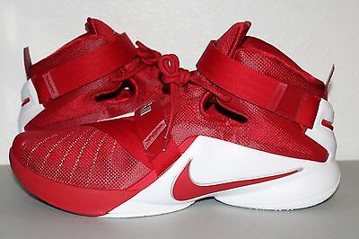 best website b0be1 1d3f8 NIKE LEBRON SOLDIER Ix Tb Basketball Shoes 813264 662 Men's Shoes Size 13.5  New