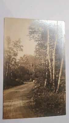 The Birches Mt. Desert ME RPPC postcard Charles Townsend Studio