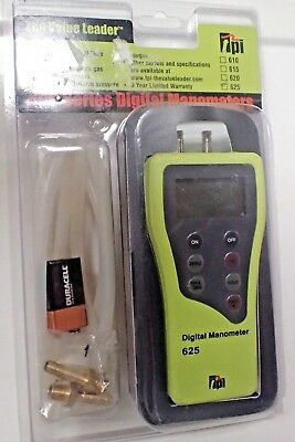 TPI 625 Dual Differential Input Digital Manometer