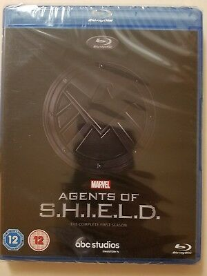 Marvel Agents of SHIELD S.H.I.E.L.D. First Season 1 Blu-Ray BRAND NEW Free Ship
