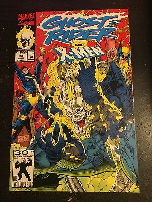 Ghost Rider#26 Incredible Condition 9.4(1992) X-men,Jim Lee Cover, Wow!!