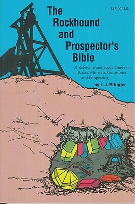 Rockhound and Prospector's Bible mining geology book
