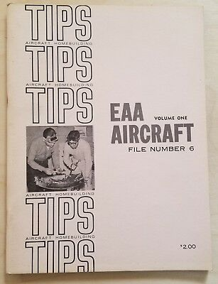 Aircraft Homebuilding Tips - EAA Aircraft Volume 1 - File Number 6