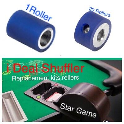 IDeal Shuffler Replacement Rollers