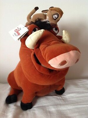 Official Disney The Lion Guard 30cm Pumba Soft Plush Simbas Pride Lion King
