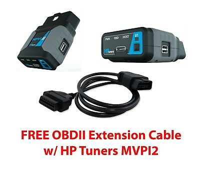 HP Tuners MPVI2 + 2 GM Credits + Free OBDII Extension Cable