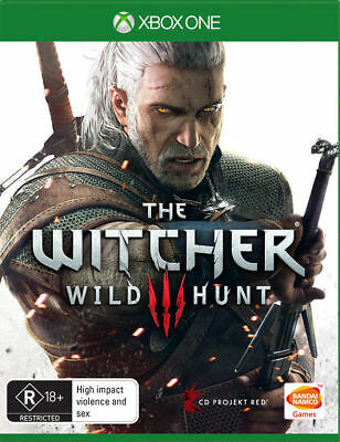 The Witcher III 3 Wild Hunt game of the year Edition (BOX ONE GAME) NEW