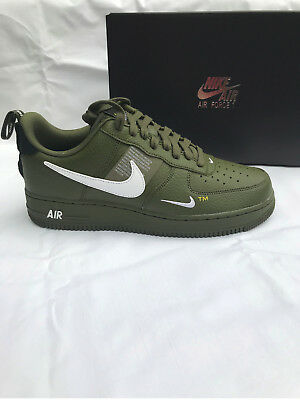 NIKE AIR FORCE 1 07 LV8 Utility SELTEN Größe 42 US 8,5 in