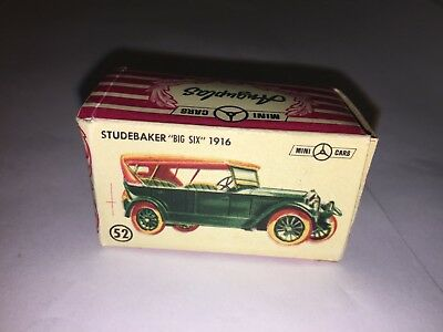 Scatola originale Anguplas Studebaker Big Six 1916 scala 1:86