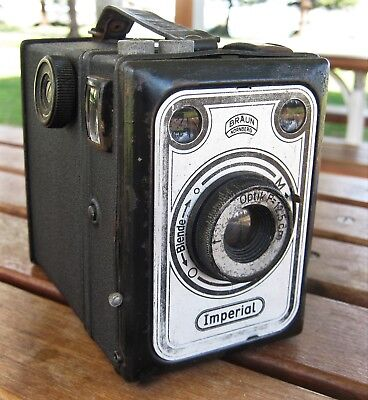 Braun Imperial Box Camera from Germany