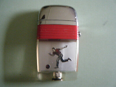 Vintage Scripto Lighter with Bowler Red Band (NOS)