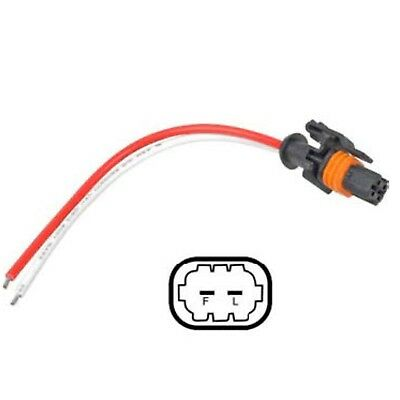 rvc alternator plug, pigtail harness repair 2 wire, gm chevrolet buick  cadillac