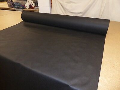 """BLACK  60"""" wide - Upholstery Base Cloth / Corovin / Dipryl / Lining Fabric"""