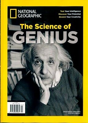 National Geographic Special Magazine 2018 ~ The Science Of Genius ~ New ~