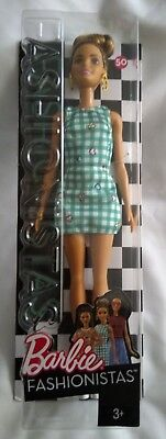 Barbie DVX72 Fashionistas Emerald Check Original Doll New Boxed (No. 54)