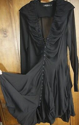 Gorgeous  All Saints 100% Silk Dress Size 12, Great Condition
